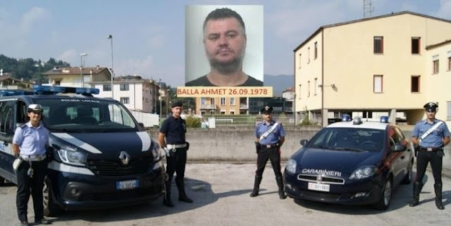 40-year old Wanted Albanian arrested after 6 years in Italy