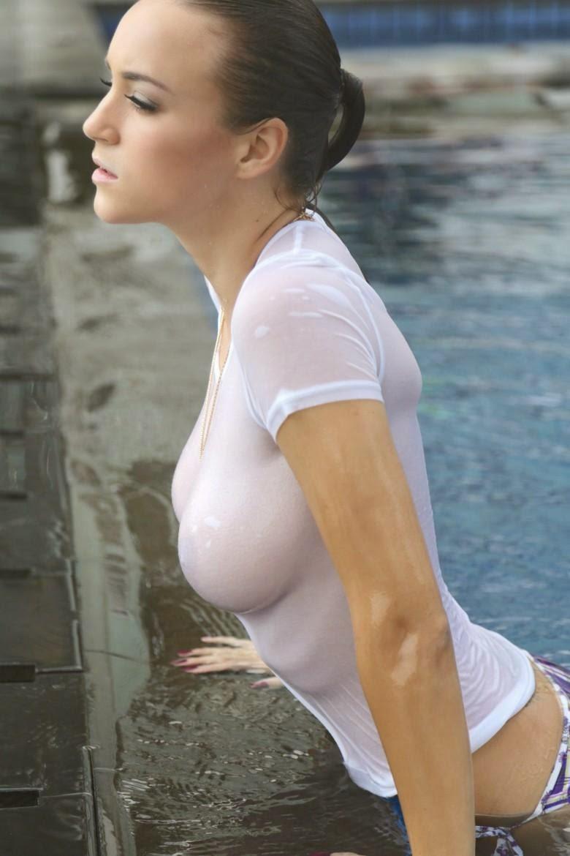 Rosie Jones Hot In Bikini  Wet Shirt Fashion Stills For -2457