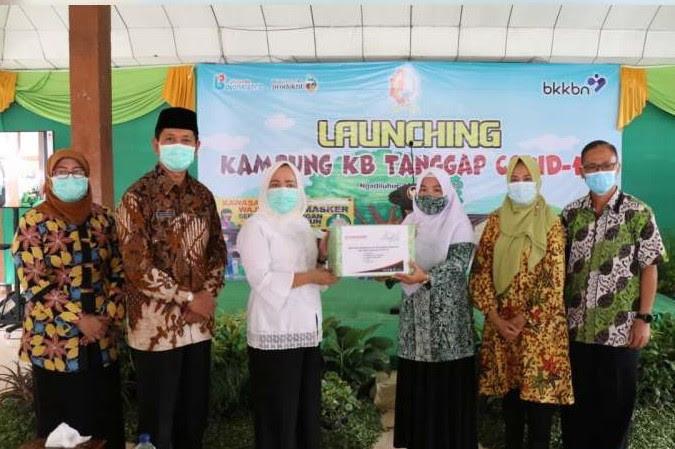 Bupati Bojonegoro Launching Desa Ngadiluhur Jadi Kampung KB Tanggap Covid-19