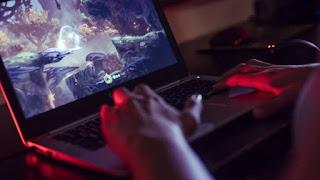 laptop untuk gaming dengan ryzen 5
