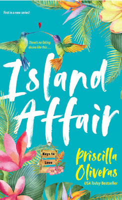 Island Affair by Priscilla Oliveras Cover