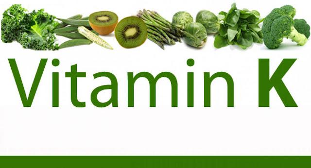 فيتامين ك K Vitamin  - وظائفه , مصادره , الامراض المتعلقه والكمية الموصى بها