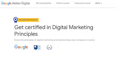 Do Online courses digital marketing principals
