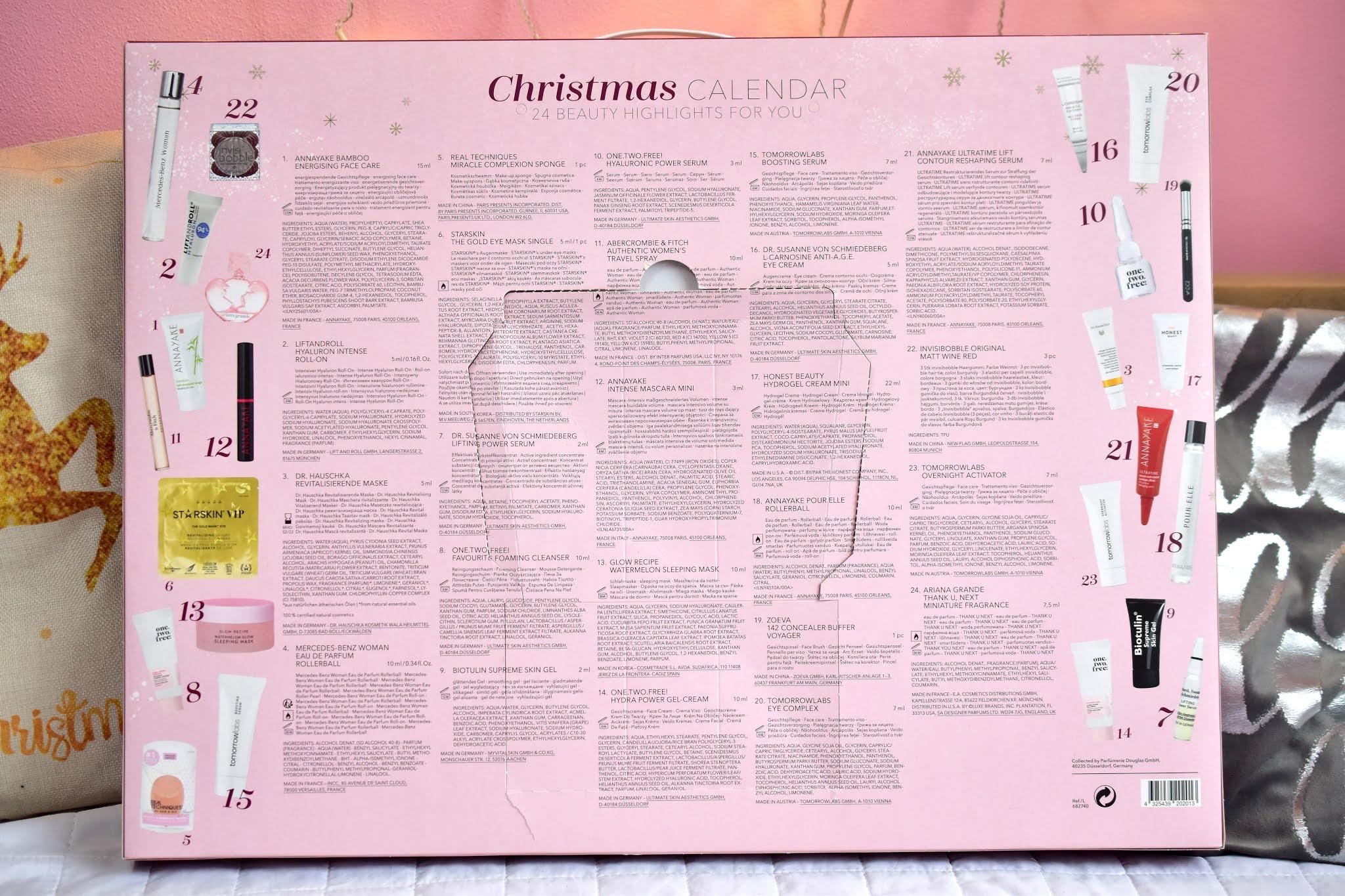 Douglas adventný kalendár