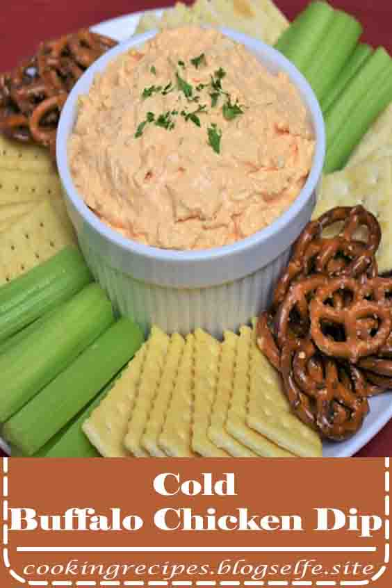 4.8 ★★★★★ | This cold Buffalo chicken dip is an easy, no fuss appetizer that's great for parties or game-day festivities. Since it's a cold dip, make it ahead, chill and free up some much needed party planning time. #buffalo chicken dip #keto
