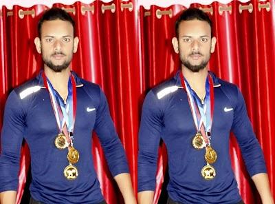 नेशनल पावर लिफ्टिंग में मप्र के प्रतिनिधित्व करेंगे शिवपुरी के असलम पठान | Shivpuri News
