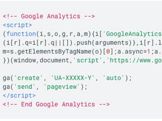 implementacija google analitike