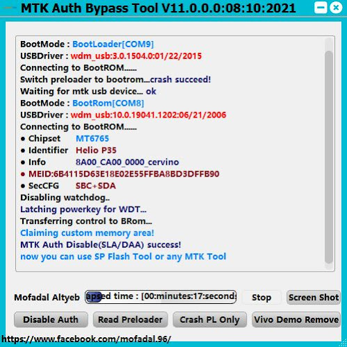 [FREE] MTK Auth Bypass Tool V11
