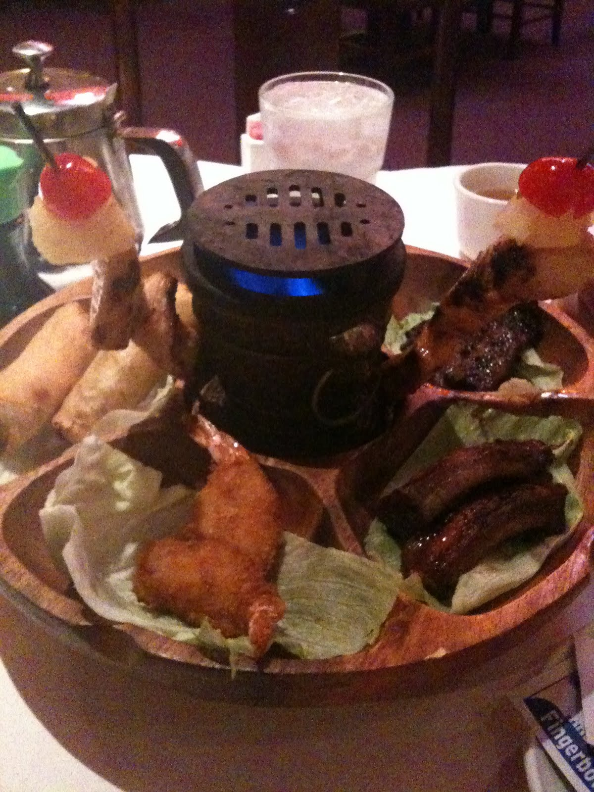 Practical Gifts: The Pu Pu Platter with Hibachi