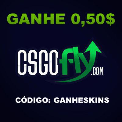 Dicas: Como ganhar skins de csgo no site csgofly.com