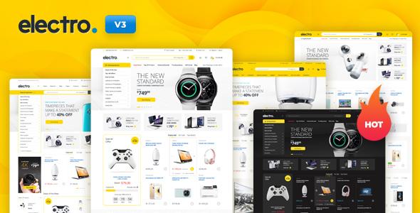 Electro | 15+ Best Multipurpose WooCommerce WordPress Themes