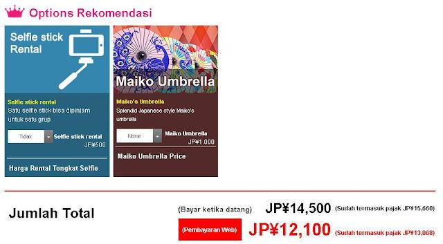 biaya sewa kimono di kyoto kimono rental wargo