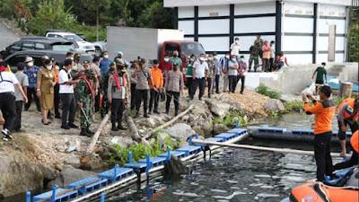 Pangdam Bukit Barisan Ikut Tertibkan Keramba Jaring Apung di Baktiraja