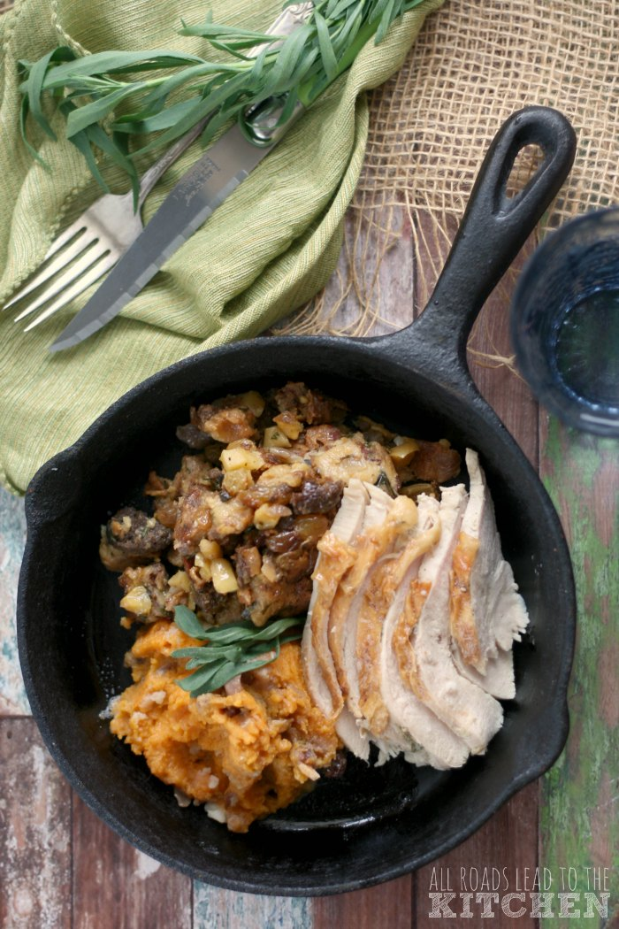 Apple Bacon Stuffing