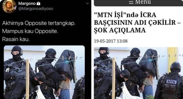 Opposite Ditangkap Pakai Foto Hoax