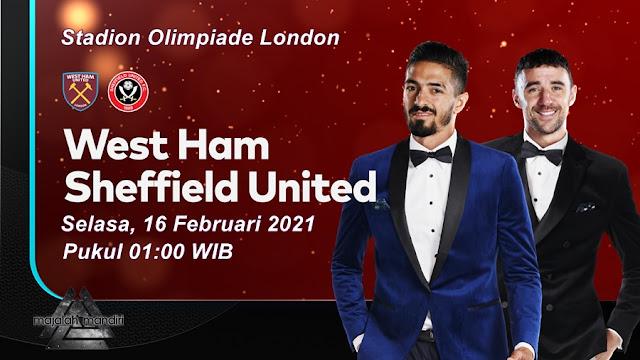 Prediksi West Ham United Vs Sheffield United