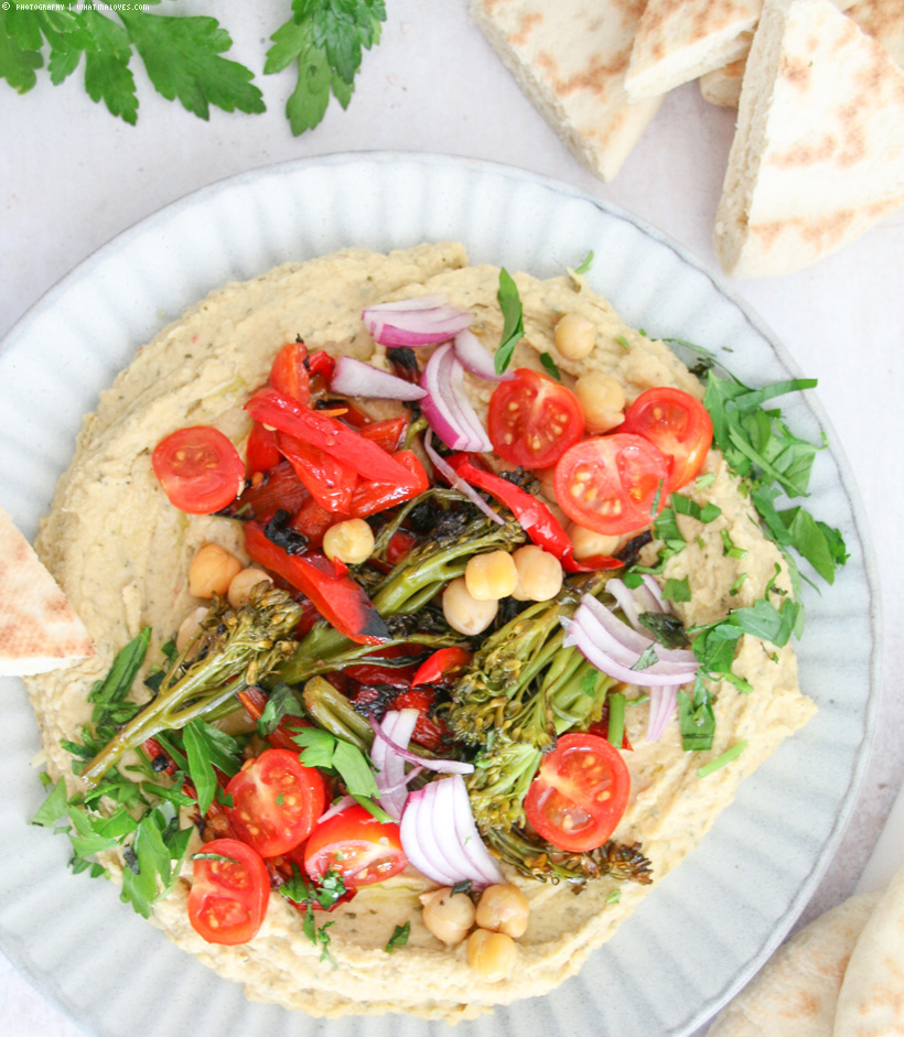 Loaded Hummus