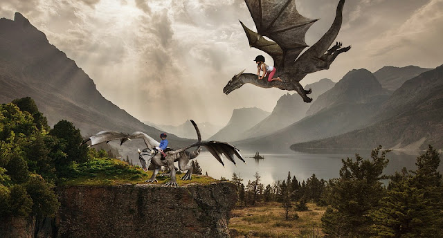 Image: Children Riding Dragons, by Lothar Dieterich on Pixabay