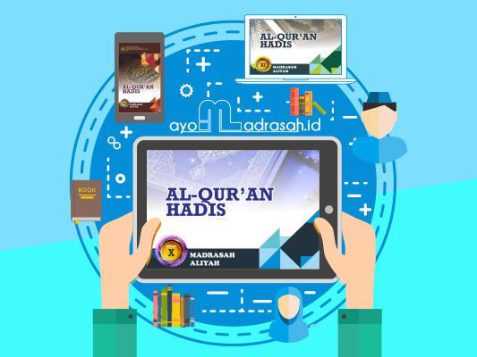 Buku Al Quran Hadis MA