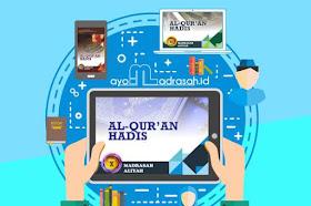 Download Buku Al Quran Hadis MA Sesuai KMA 183 - 2019