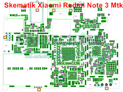 Skematik Xiaomi Redmi Note 3 Mtk