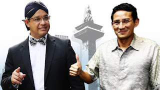 Dukung Mantu Jokowi, Sandi Disebut Pengkhianat, Novel 212: Beda dengan Anies Baswedan