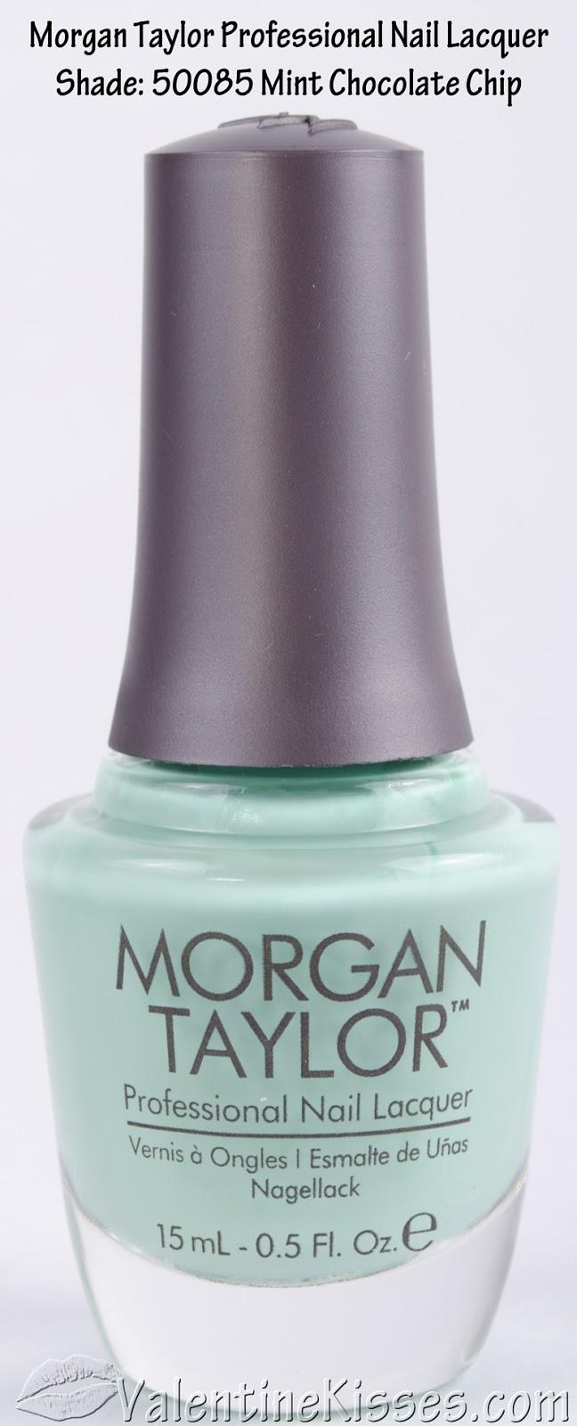 Valentine Kisses: Morgan Taylor Professional Nail Lacquer