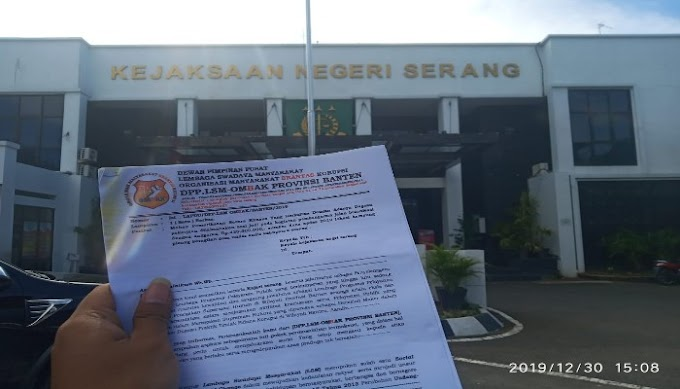 Direktur LSM Ombak Laporkan Dugaan Penyelewengan DD 2019 Undar Andir