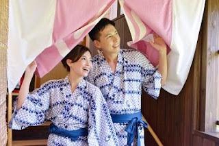 yukata for sleeping wear