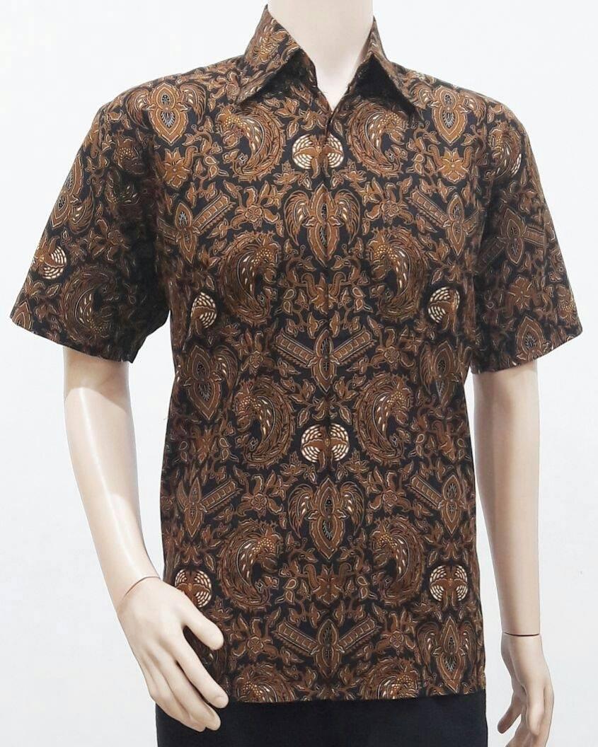 Model Baju Batik Pria Motif Sogan Batik Bagoes Solo