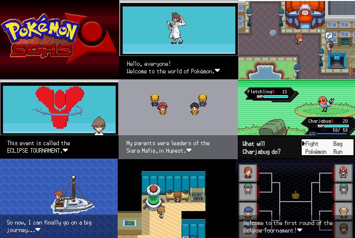 Pokemon Sors gba rom hack