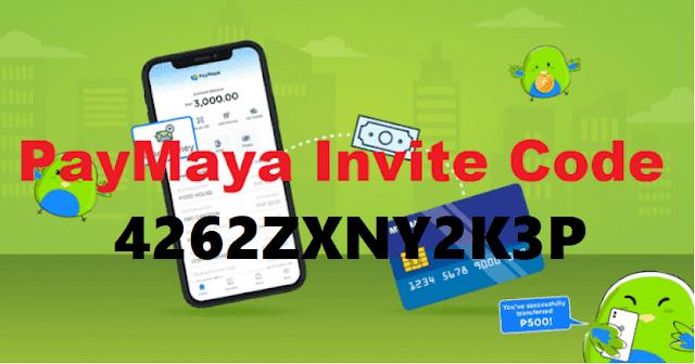 PayMaya Invite Code 2021