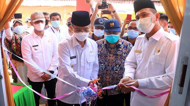 Resmikan Los Balai Nareh, PJ Gubernur Puji Genius Kepala Daerah Pembawa Perubahan