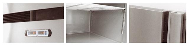 Tủ đông công nghiệp 6 cánh 1 chế độ Nataky NTD6