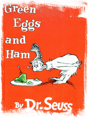 Cat In The Hat Poem--Green Eggs And Ham