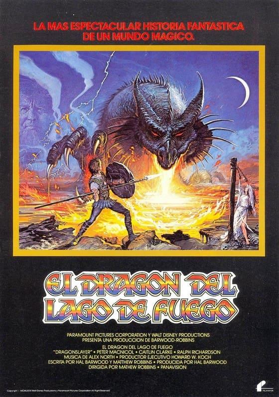 El Dragón del Lago de Fuego (1981)