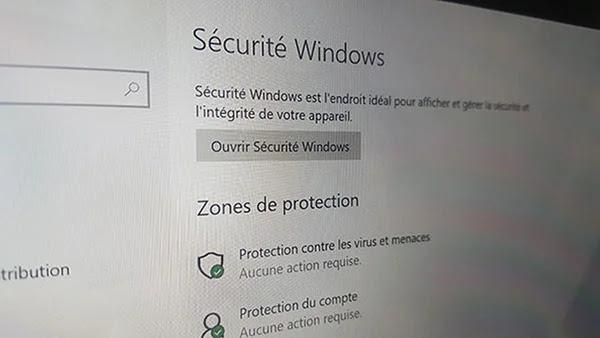 La mise à jour Windows 10 et les fonctionnalités de sécurité intégrées
