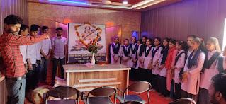 निशा कांवेंट विद्यालय में वसंत पंचमी उत्सव मनाया