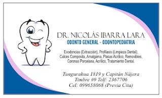 Tarjetas de presentación para dentistas