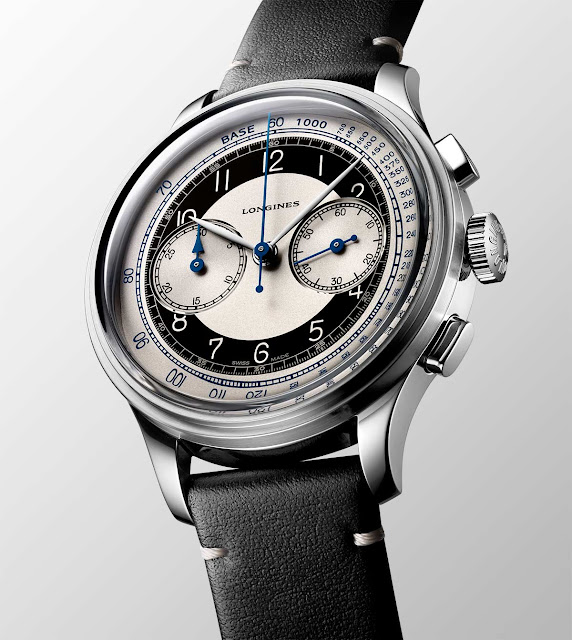 Longines Heritage Classic Chronograph Tuxedo L2.830.4.93.0