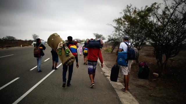 Lo único que exportamos: 144 mil venezolanos se fueron del país en 30 días