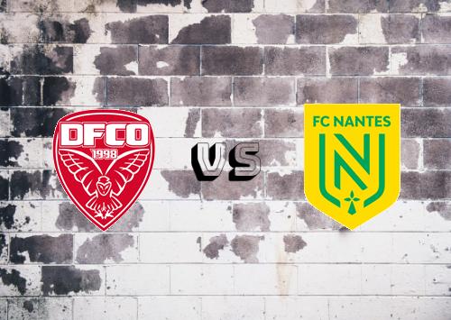 Dijon FCO vs Nantes  Resumen