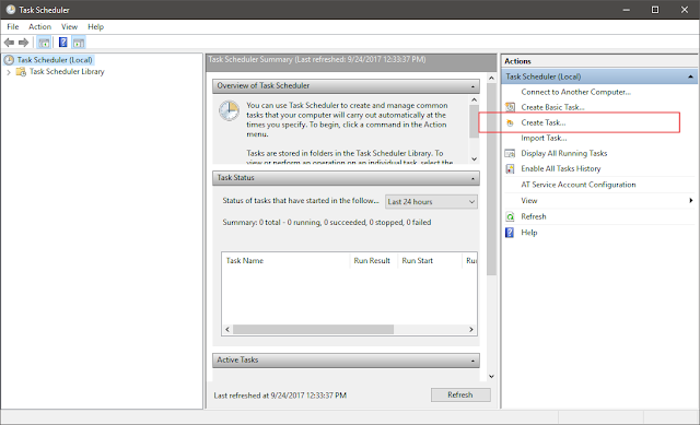 how to run batch script minimized