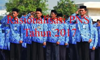 Rasionalisasi PNS Tahun 2017