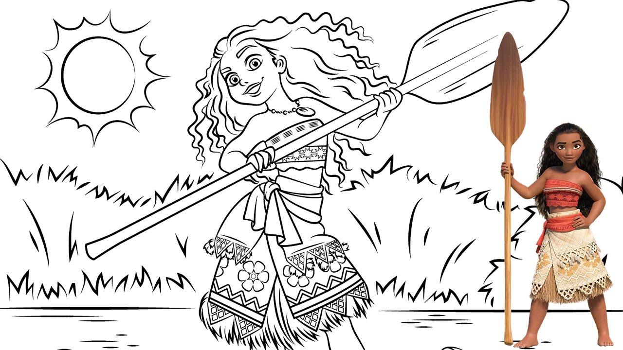 Preferência Maternar para sempre: Desenhos para colorir Moana - Um Mar de  MI05