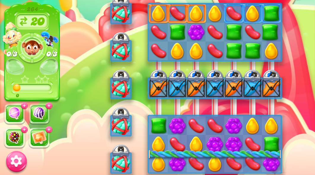 Candy Crush Jelly Saga 264