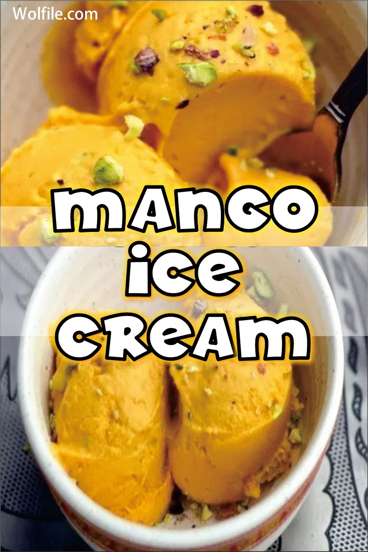 Manggo Ice Cream