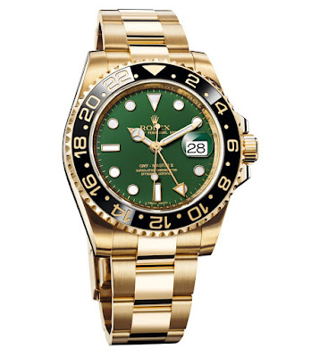 Photo of Yellow Gold Rolex GMT-Master II (photo: Rolex)