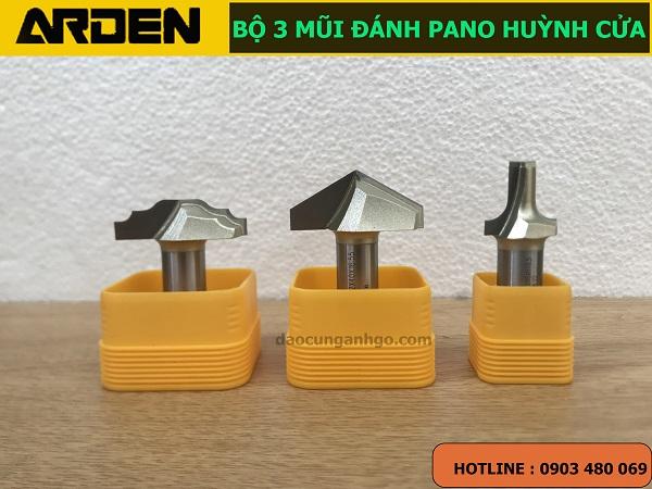 Bộ 3 Mũi dao đánh PANO huỳnh cửa ARDEN