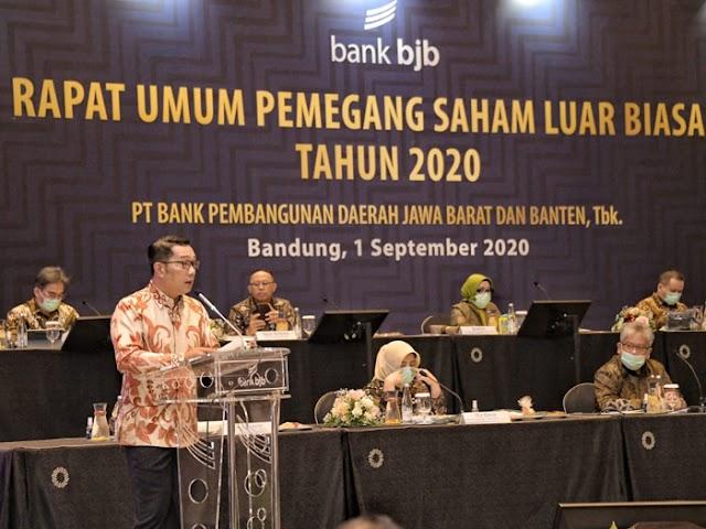 Gubernur Ridwan Kamil Minta bank bjb Tingkatkan Layanan Fintech di Era 4.0